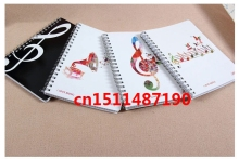 wonderful music stationery wholesale notebook Xianlv soft copy package Notepad music party favors N/3