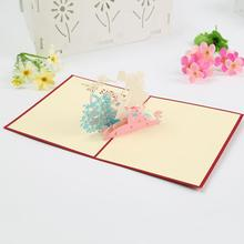 3D Pop Up Mother's Day Greeting Card Postcard Wishes Gift for MOM on Mother's Day Birthday gift