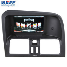 Upgrade Multimedia Navigation System with 7'' HD Touchscreen Monitor GPS Bluetooth USB 1080P for 2008-2011 Volvo XC60
