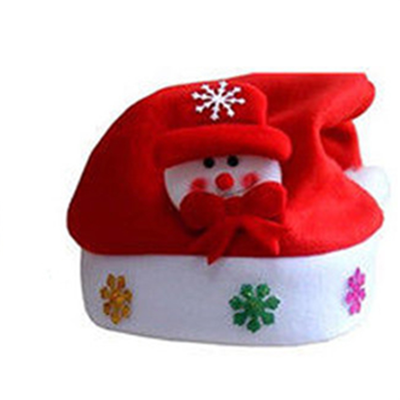 New Cute Christmas Hat LED Caps Snowman Elk Hat for Children New Year Xmas Kids Gift Home Decorations Christmas Ornaments noJY3 (3)