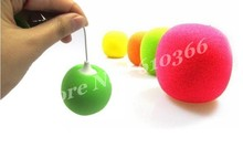100pcs Fashion Mini speaker Colorful Ball speaker audio box for phone mp3 player dhl fedex free shipping