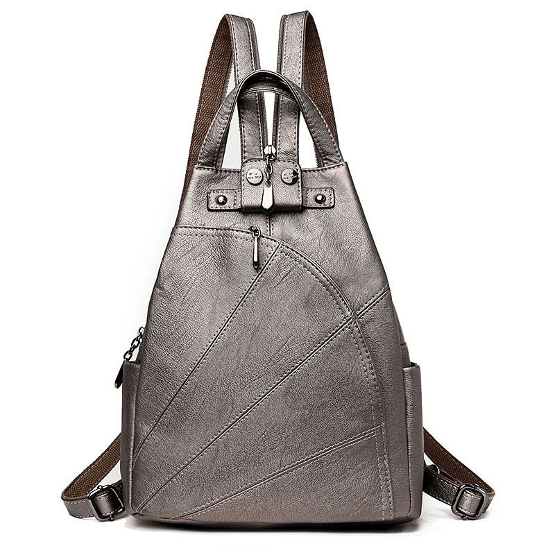 Fashion PU Leather Chest Pack Small Shoulder Bag Lady Dual Function Famous Designer Women Messenger Bag Casual Daypack<br>