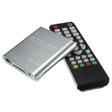 Top Selling Full HD 1080P Mini HDD Multi Media Player POUR HDTV MKV H.264 RMVB HDMI With HOST USB SD Card Reader Newest
