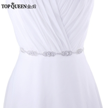 Buy TOPQUEEN FREE SHIPPING S215 Rhinestones Wedding Belts Wedding sashes,Rhinestones Bridal Belts Bridal Sashes Fast Delivery for $8.99 in AliExpress store