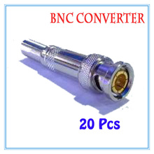 20 pieces All copper-free solder BNC Balun passive Transceiver For CCTV IP Camera Power Supply Surveillance Accessories