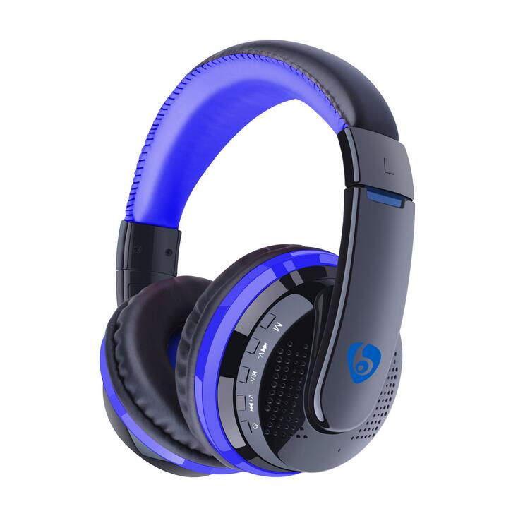 OVLENG MX666 Bluetooth 4.0 + EDR Game Gaming Headphone Wireless Stereo Super Bass Headset Headband Earphone with Microphone<br><br>Aliexpress