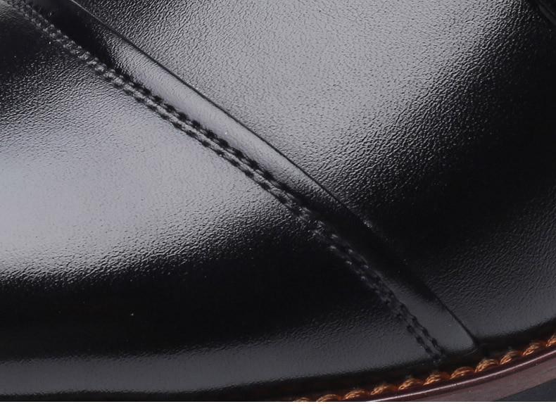 احذية جلدية رجالي لينة عالية الجودة  الحجم 39-48 4