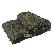 LOOGU EM 2M*3M Woodland Camouflage Netting Army Military Camo Net Car-Covering Tent Hunting Blinds Camo Netting(China)