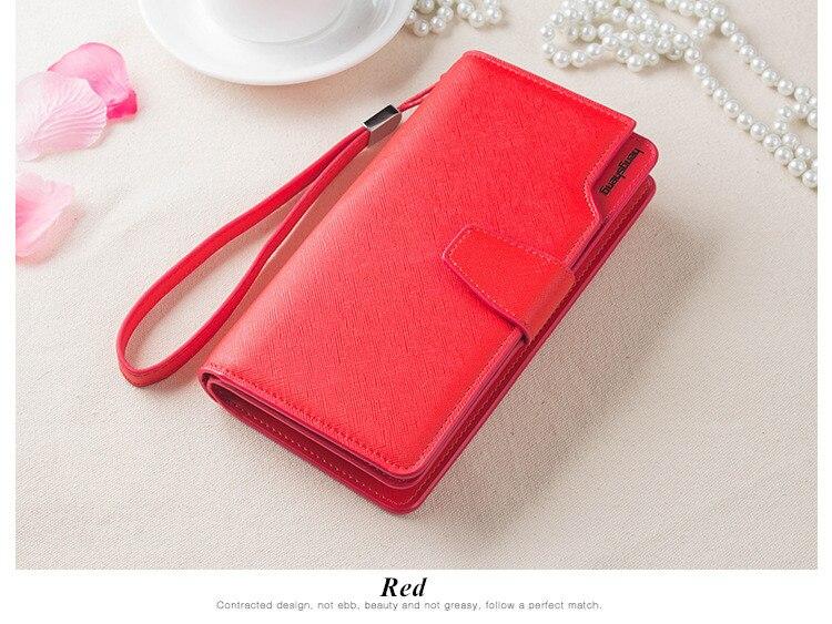 HTB14Va0SFXXXXXaXFXXq6xXFXXXL - 2018 new fashion women wallet leather brand wallets women wholesale lady purse High capacity clutch bag for women gift
