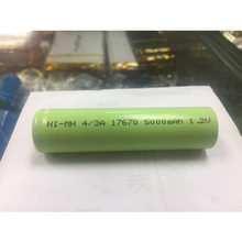 10 Pcs Ni MH rechargeable battery 4/3A 17670 4500mAh 1.2V medical device processing battery pack
