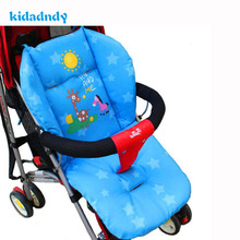 kidadndy Cushion Cart Stroller Cartoon Baby Stroller Seat mattresses Pillow Cover Car Child Carriage Thermal Thicken Pad TSP358R(China)