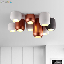Modern Italian Design LED Ceiling Lamps Living Room Lights Balcony Corridor Nordic Combination Restaurant Bedroom Decor Fixtures(China)
