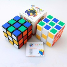 New 7081A 3x3x3 Three Layers Cube Puzzle Toy magic cube 3x3x3 Profissional Black & White Colors Neo Cube Toys For Children