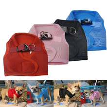 New Quality Adjustable Safety Pet Products Soft Mesh Padded Dog Harness Pet Puppy Vest Dog Cat Chihuahua Collar Belt Harness
