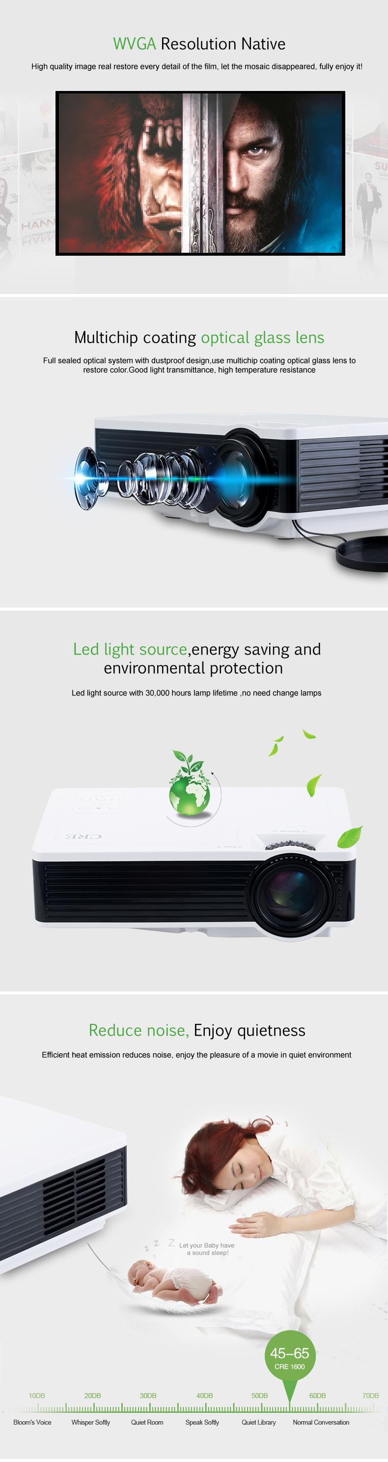 X1600 mini projector