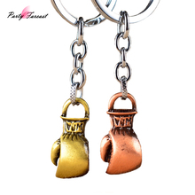 PF Originality Car Key Chains Charms Man Bag Phone Key Ring Boxing Glove Pendant Jewelry Keychain Gift Chaveiro Para Carro YS093