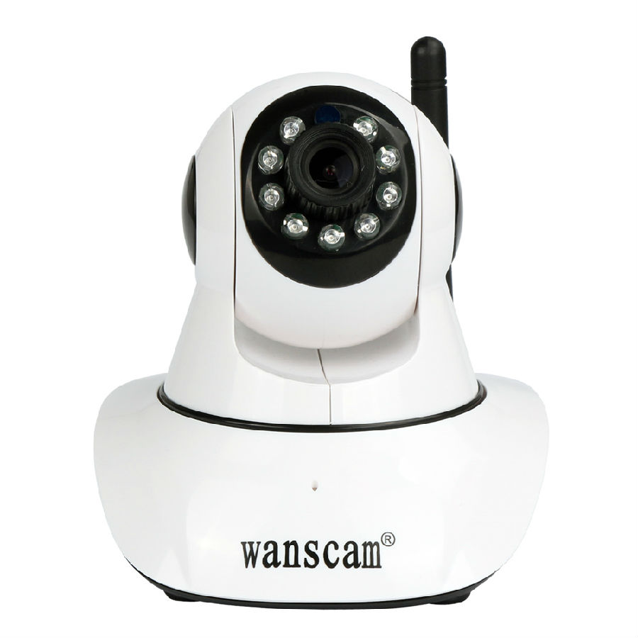 1080P HD WiFi IP Camera Pan Tilt PTZ 2-way Audio Talk 2.0 Megapixel Home Security Surveillance Wireless H.264 Support TF SD Card<br>