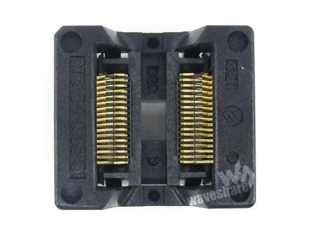 module SSOP34 TSSOP34 OTS-34-0.65-01 Enplas IC Test Burn-in Socket Programming Adapter 0.65mm Pitch 5.3mm Width<br>