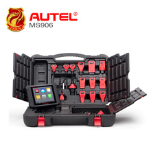AUTEL Auto Diagnostic Scanner key coder MaxiSYS MS906 Android 4.0 BT/WIFI Update from MaxiDAS DS708 Online Update(China)