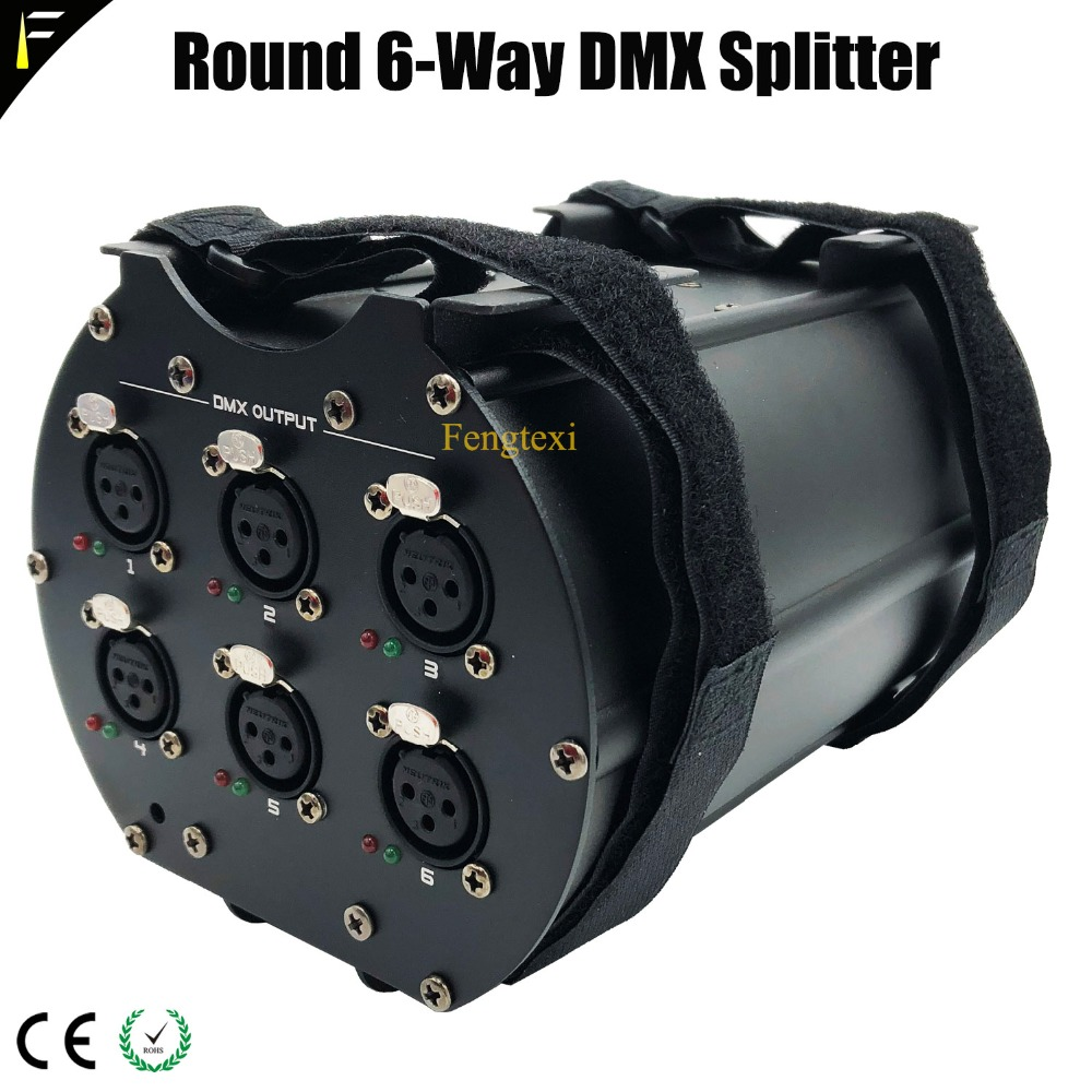 Round 6 Way Splitter
