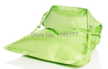 Ywxuege Free Shipping Green Living Room Furniture Adult Beanbags Chair, Outdoor Waterproof Bean Bag Sofa Wholesale