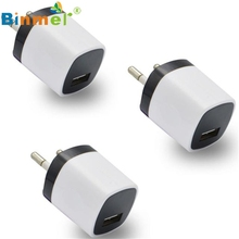 3pcs Black and White   USB Power Adapter EU Plug Wall Travel Charger for iphone for Samsung for LG G5 July 27