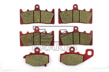 Brake Pads Ceramic For Front + Rear KAWASAKI ZZR 600 J6F/J7F/J8F 2005-2008 OEM New High Quality ZPMOTO(China)