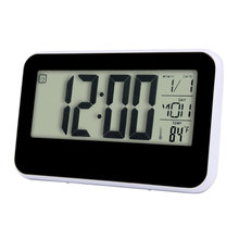 Smart Clock LED Digital Fashion Creative LED Snooze Alarm Calendar Temperature Apr28 GEMIXI Extraordinary