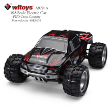 WLtoys RC Car 4WD Rock Crawlers 4x4 1: 18 Scale Remote Control Car Drift High Speed Monster Truck Off -road Vehicle Model A979-A