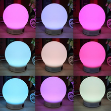 Mini Wireless Bluetooth Speaker RGB LED Lamp Magic Smart Bulb Colorful Light Alarm Music Audio Decor Night Lighting Speakers(China)