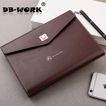 2017 Business Companies advertising business gifts high-end custom option High-grade super texture soft skin loose leaf notebook