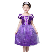 Toddler Infant Girls Fancy Dress Costume Kids Princess Outfit Cute Photography Dress UK Ages 3-10T