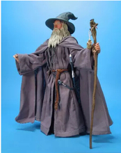 GANDALF WIZARD HAT HOBBIT THE LORD OF THE RINGS SORCERER GREY costume cloak set