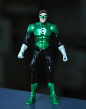 "DC 6"" Action Figures GREEN LANTERN YELLOW LANTERN HAL JORDAN Loose Toy"