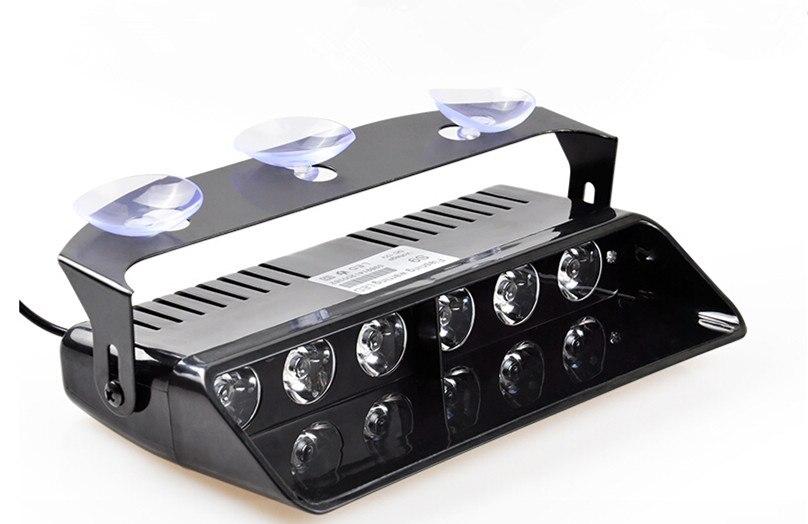 6 LED Visor Dashboard Emergency Strobe Lights<br><br>Aliexpress