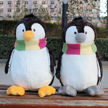 Plush toy stuffed doll NICI Ice guys winter scarf penguin couple lover Christmas Valentine's Day birthday gift 1pc free shipping(China)