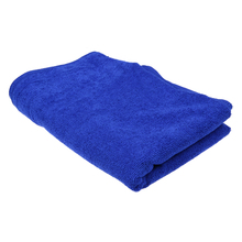 160*60cm Soft Blue Microfiber Cleaning Towel Car Wash Dry Clean Cloth Multifunctional Auto Wax Polishing Detailing Towel