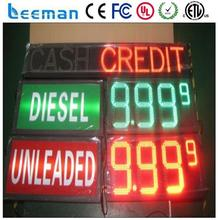 leeman led price sign petrol gas station screen for advertising road signs LED Gas Price Sign \ LED Gas Station Sign