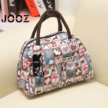 JOOZ Brand New Cute Pattern Lady Handbags Women Casual Tote Female Daily Shopping Bag Girls Handle Bags Cartoon Shoulder Bag
