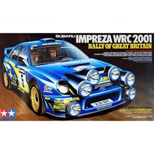 OHS Tamiya 24250 1/24 Impreza WRC 2001 Rally Of Great Britain Scale Assembly Car Model Building Kits