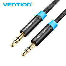 Vention Jack 3.5mm Car AUX Cable Male to Male Audio Cable 1m 2m 3m for iPhone Tablet Headphone Speaker Computer ford aux cable
