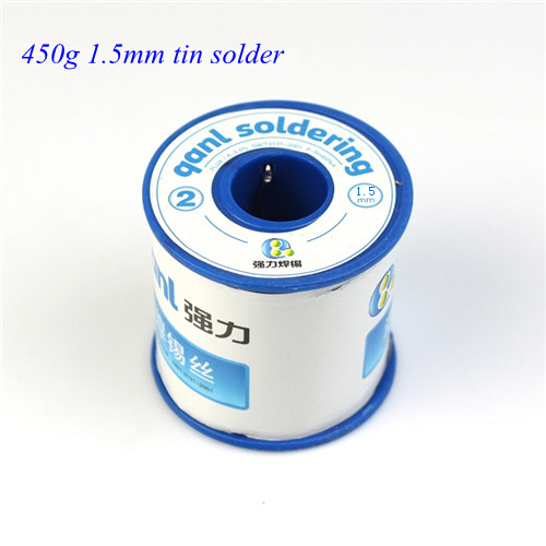 Free shipping New 1.5mm 450g Tin Solder Melt Rosin Core Soldering Wire Reel flux wire weld soldering tin high quality W0008<br><br>Aliexpress