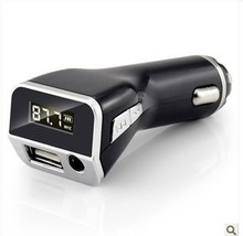 car mp3 player usb flash drive aux cigarette lighter charge multifunctional car audio Free Shipping