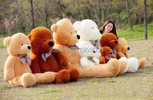 80CM Giant Huge milky plush teddy bears Holiday Gifts Christmas Stuffed Plush Toys 2.62 FOOT NICE GIFT