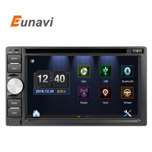 Eunavi 2 Two Din Car PC DVD For Universal with GPS Navigation MP3 Radio RDS Video country map Bluetooth Mp4 car stertos