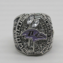 2012 super bowl ravens flacco world series championship ring(China)