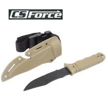 AC-6014 Army Soft Plastic Knife Model Decoration Training Knife Cosplay Props Knife Paintball Military Dummy Hunting Accessory