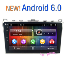 10.2 inch 1024*600 Quad Core Android 6.0 Car DVD Multimedia Player For MAZDA6 MAZDA 6 Navigation GPS Radio(China)