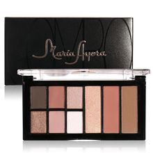 Natural Eye Makeup Sexy Baked Eyeshadow Matte&Shimmer Smoky Eyeshadow Palette 9 colors New Arrival