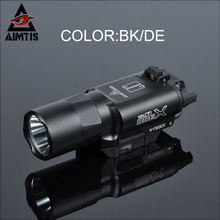 AIMTIS Tactical X300 Ultra Handgun LED Weapon Light Waterproof Hunting WeaponLights  Tactical Spotlight CREE Q5 Flashlight